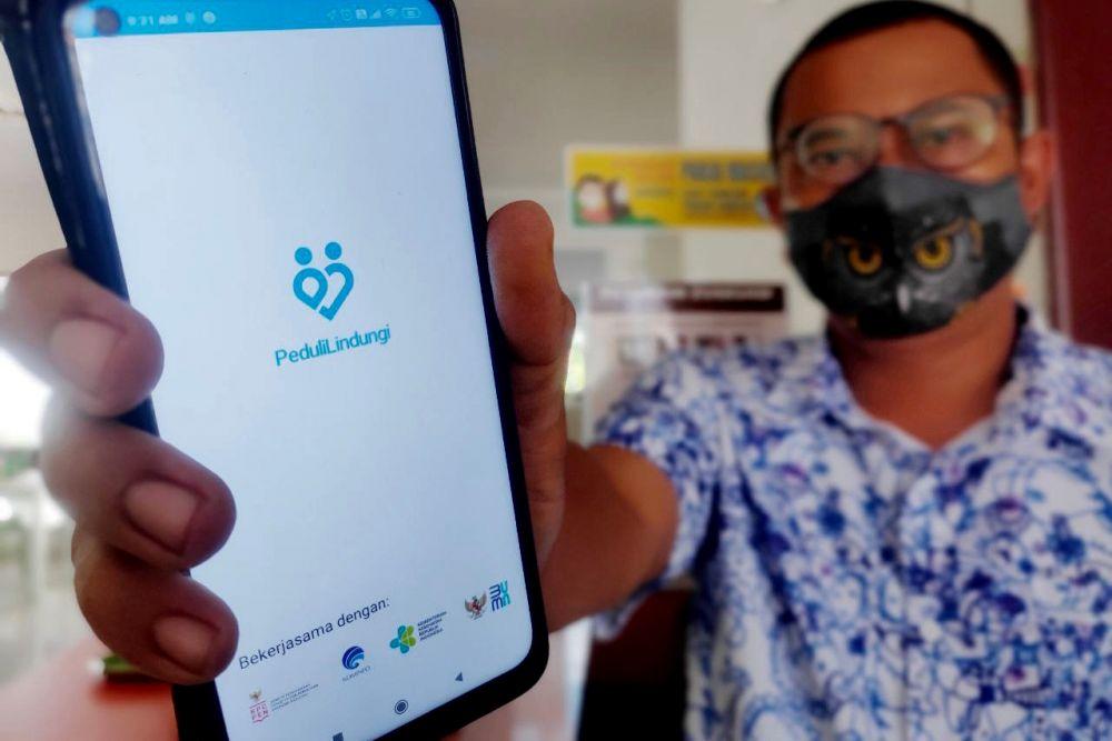 Pengunjung Bioskop Wajib Punya Aplikasi PeduliLindungi