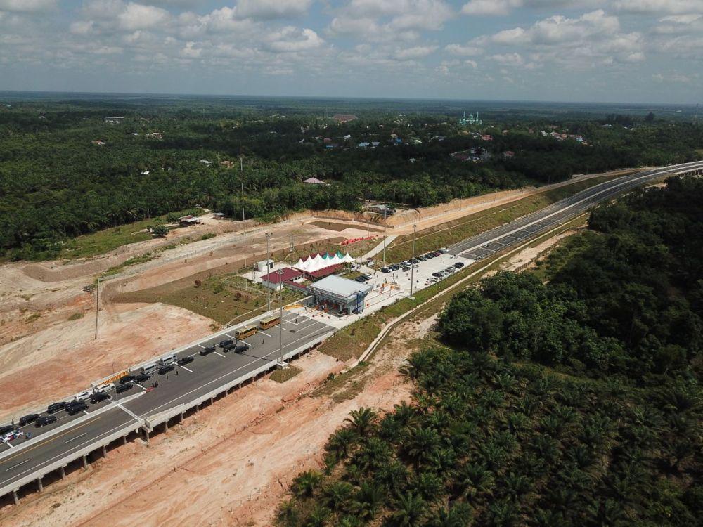Peresmian Jalan Tol Pekanbaru-Dumai Masih Ditunda