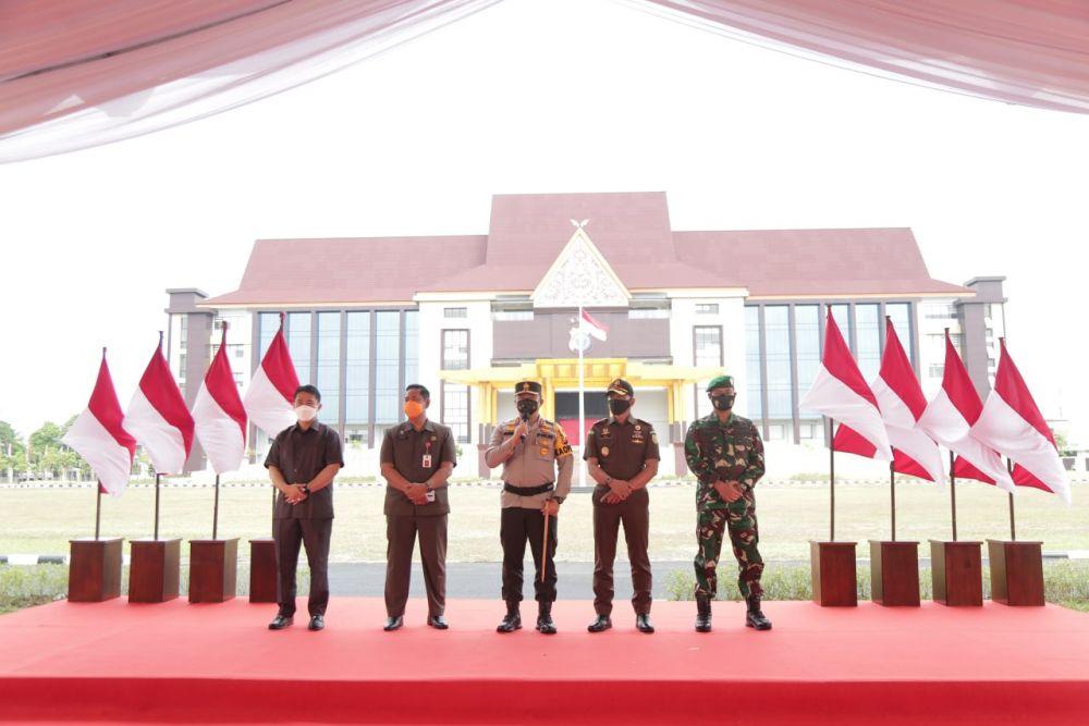 Peresmian Mapolda Riau, Wakapolri Minta Anak Buah Jangan Lukai Hati Masyarakat