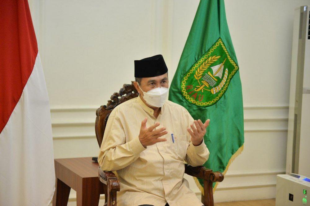 Peringati Tahun Baru Islam 1443H, Pemprov Riau Gelar Tabligh Akbar Secara Virtual