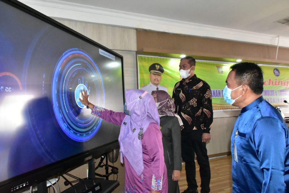 Permudah Layanan untuk Masyarakat, RSUD Bangkinang Launching Aplikasi Asmara dan Stimulus