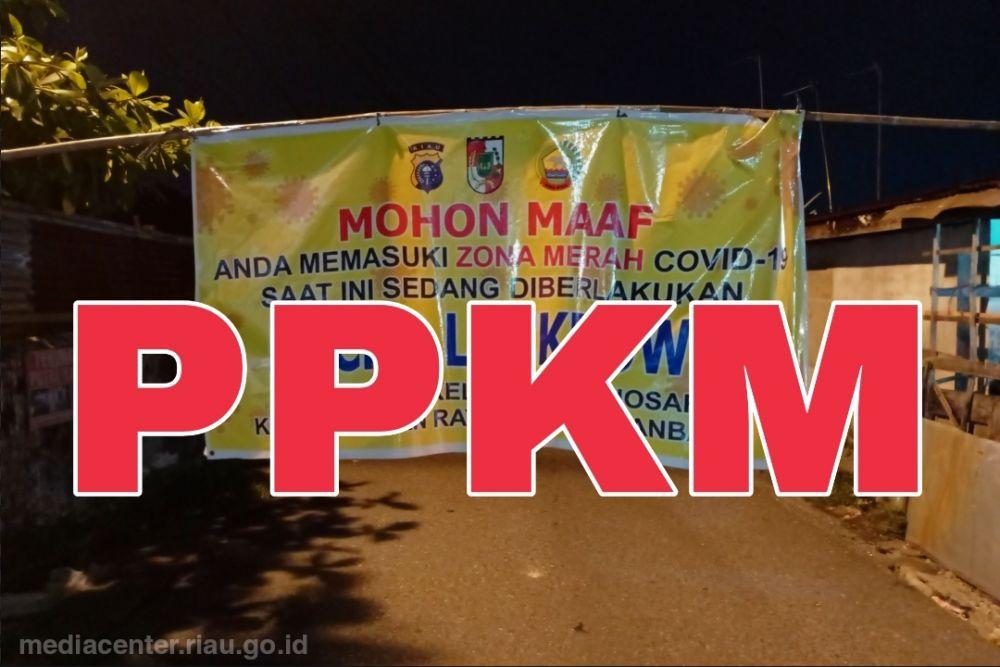 Perpanjang PPKM, Riau Tunggu Aturan Resmi Pemerintah Pusat
