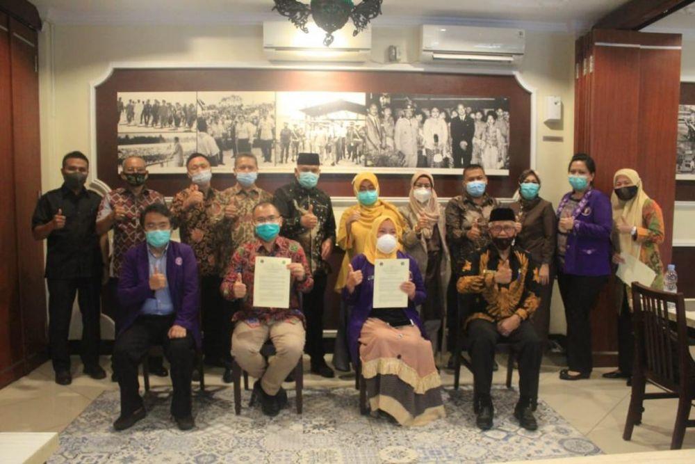 Unilak Kerjasama Dengan PDGI Riau, Rektor: Ini Kebanggaan Bagi Kami