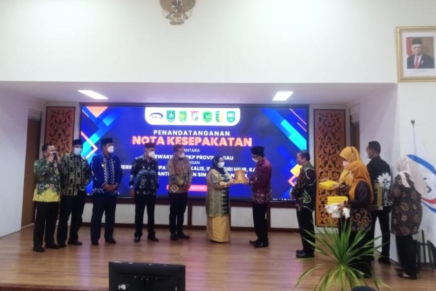 Perwakilan BPKP Riau Kerjasama Dengan Enam Pemerintah Daerah di Riau