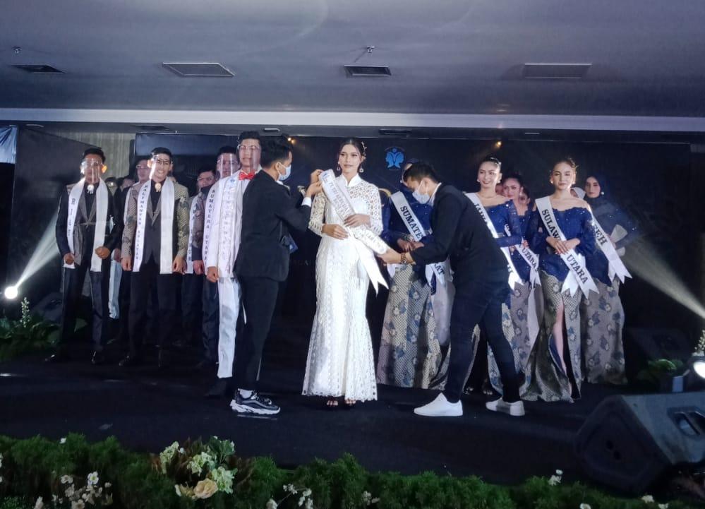 Perwakilan Riau Raih Gelar Best Ovening Gown dan On Top 10 Speech Putri Kebudayaan Nusantara 2020