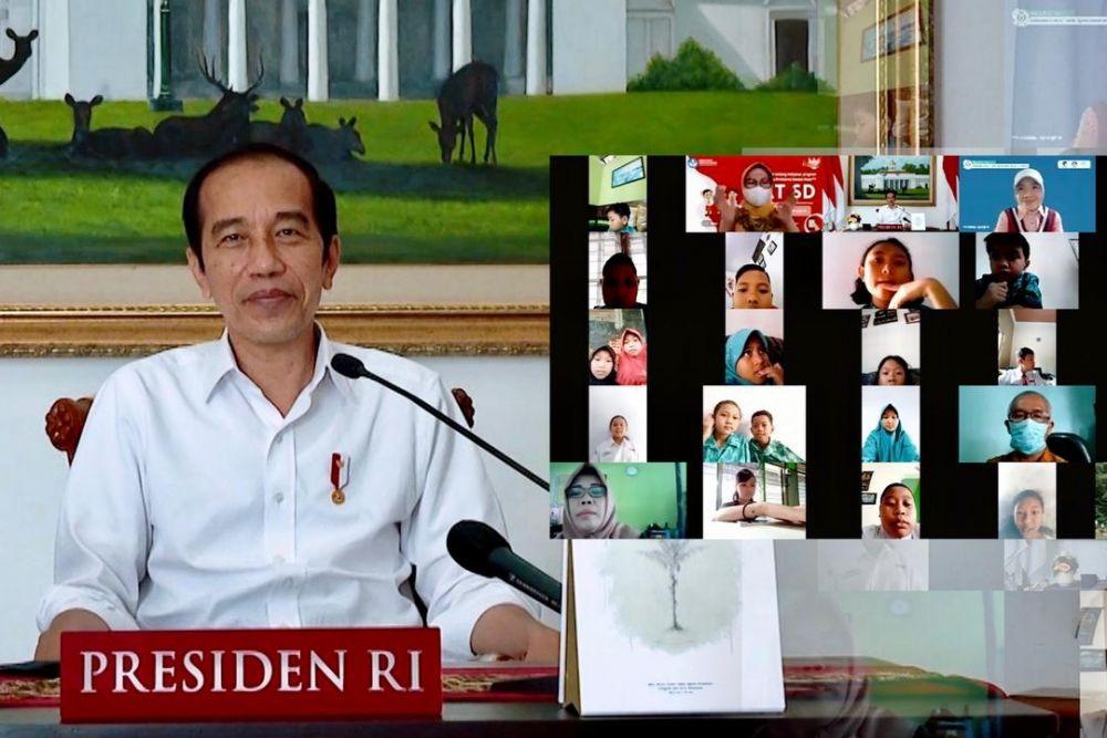 Pesan Presiden Jokowi di Hari Anak Nasional 2021: Tetap Semangat Belajar Meski Tidak di Sekolah