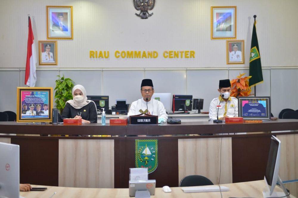 Pj Sekdaprov Riau: Bangkitkan Ekonomi Masyarakat Melalui Digitalisasi
