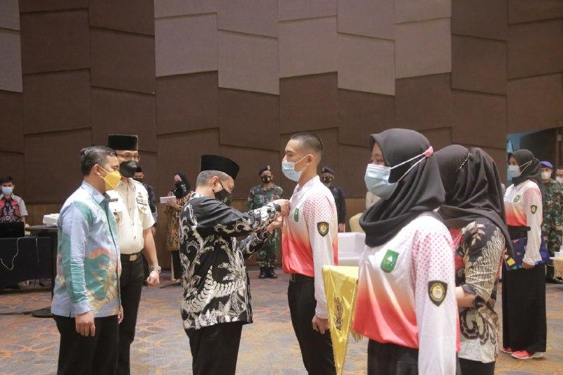 Pj Sekdaprov Riau  Buka Pelatihan dan Pendidikan Paskibraka Tingkat Provinsi Riau Tahun 2021