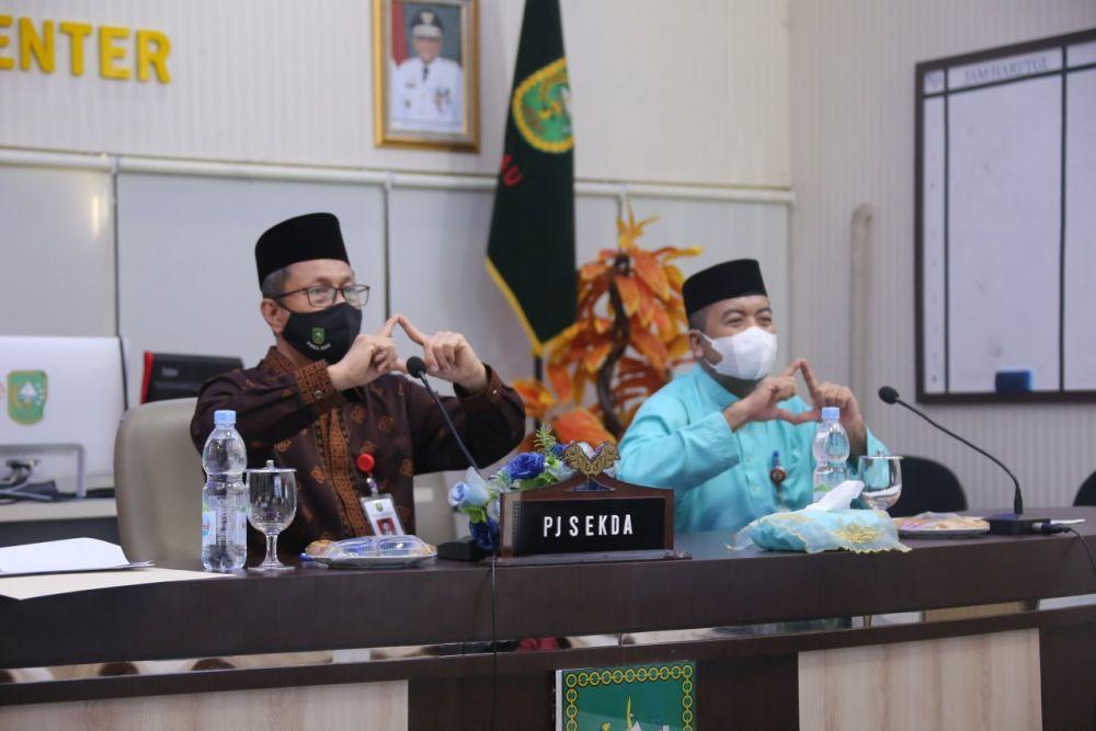 Pj Sekdaprov Riau: Siap Berkontribusi, Tingkatkan Kualitas SDM dan Infrastruktur