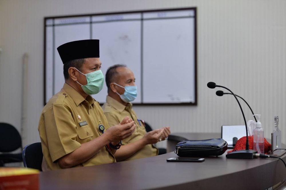 Plh Sekdaprov Riau Hadiri PKS Kemitraan PMA/PMDN Dengan UMKM Secara Virtual