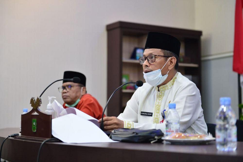 Plh Sekdaprov Riau Sampaikan Beberapa Strategi Penyelesaian Konflik Pertanahan di Riau