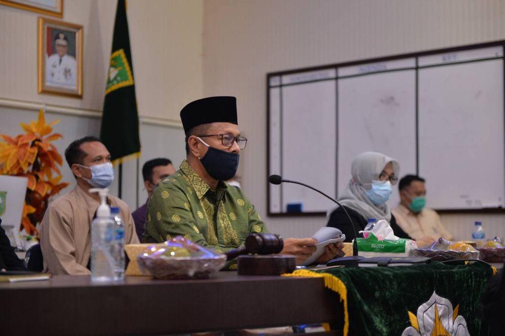 Plh Setdaprov Riau Hadiri Musda Kagama Secara Virtual