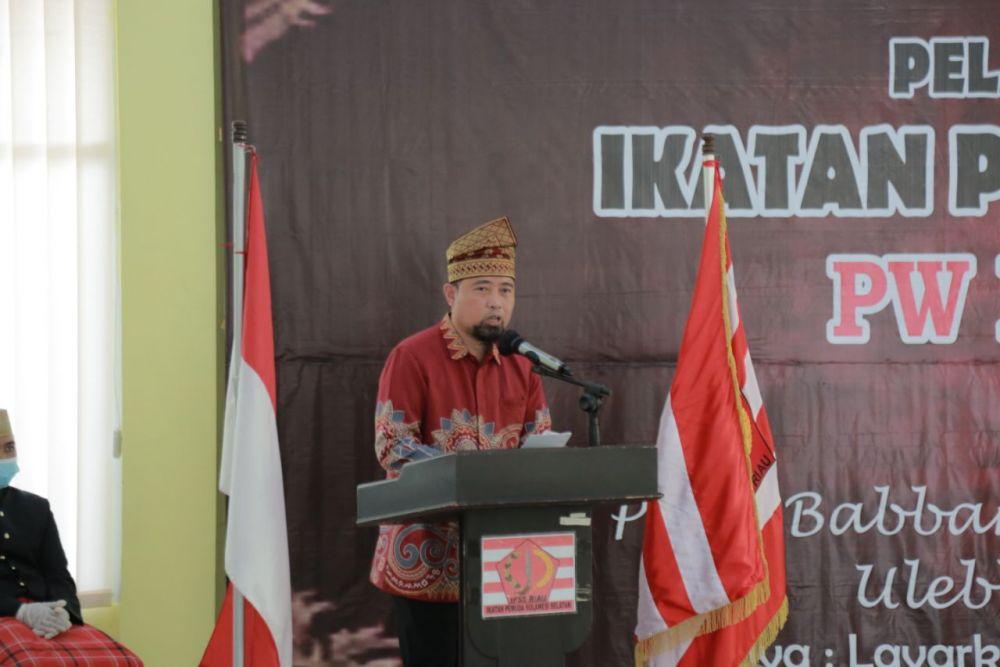 Plt Gubernur Sulsel Ajak Masyarakat Sulsel di Riau Dukung Pemerintahan Gubernur Syamsuar