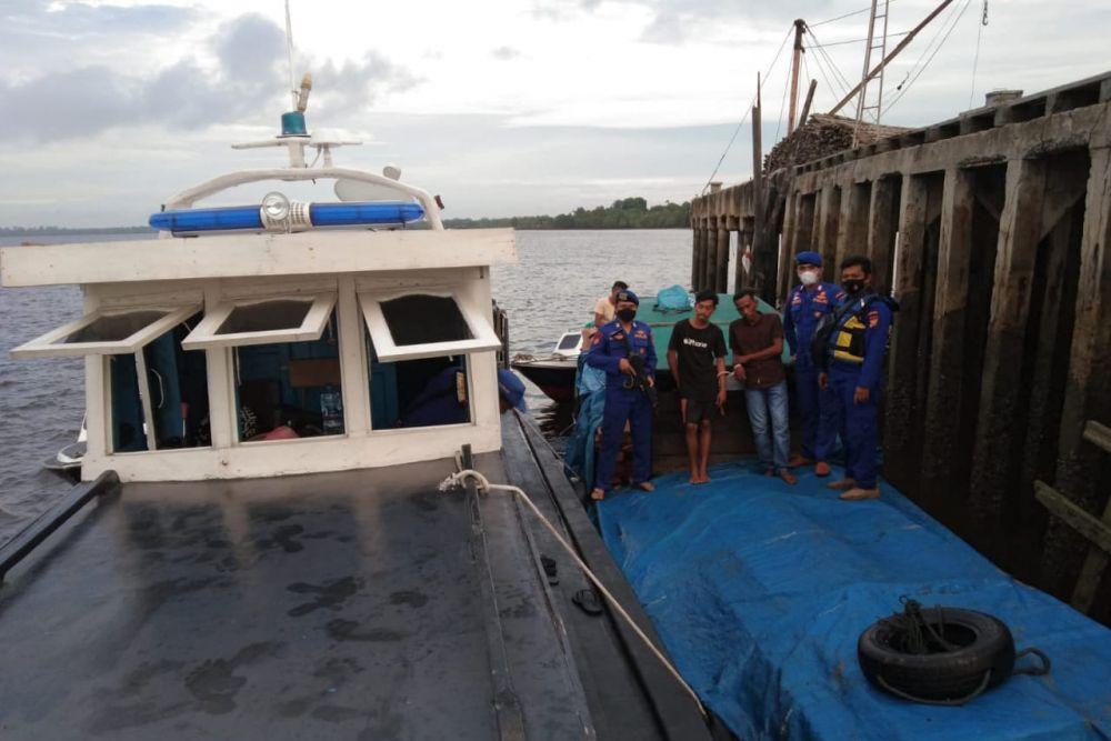 Polisi Gagalkan Penjualan Tujuh Kubik Kayu Ilegal Jenis Meranti di Riau