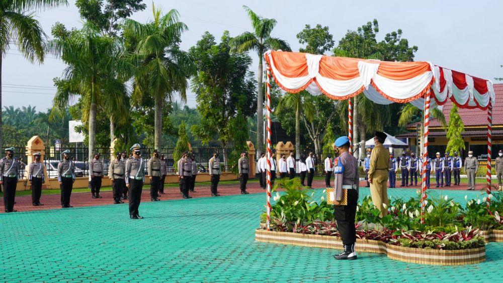 Polres Siak Gelar Apel Pasukan Operasi Ketupat Lancang Kuning