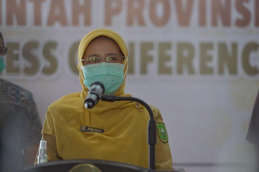Positif Covid-19 Riau Bertambah 87 Kasus, Sembuh Tambah 70 Orang