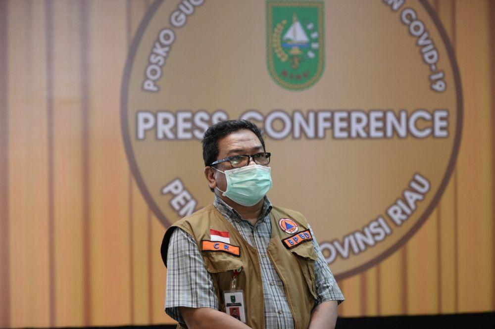 PPKM Level 4, Pj Sekdaprov Riau Surati Kepala Dinas Hingga Pimpinan BUMD dan BUMN