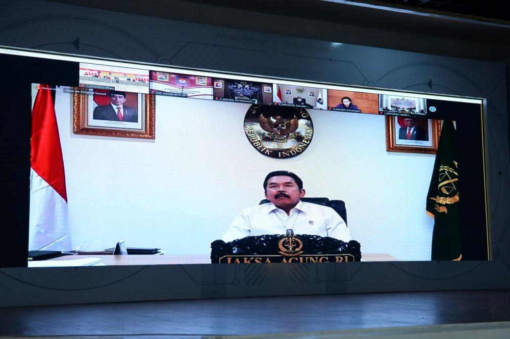 PPKM Mikro Diperpanjang Lagi, Jaksa Agung Dukung Kebijakan Pemerintah