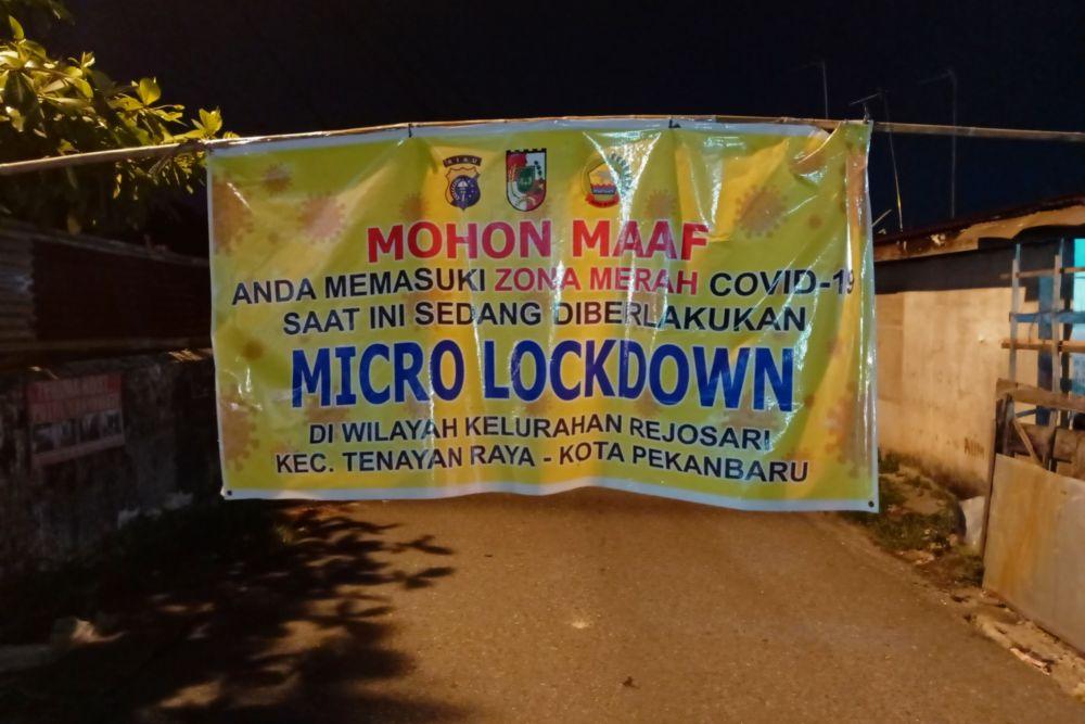 PPKM Mikro Pekanbaru Diperpanjang sampai 2 Agustus