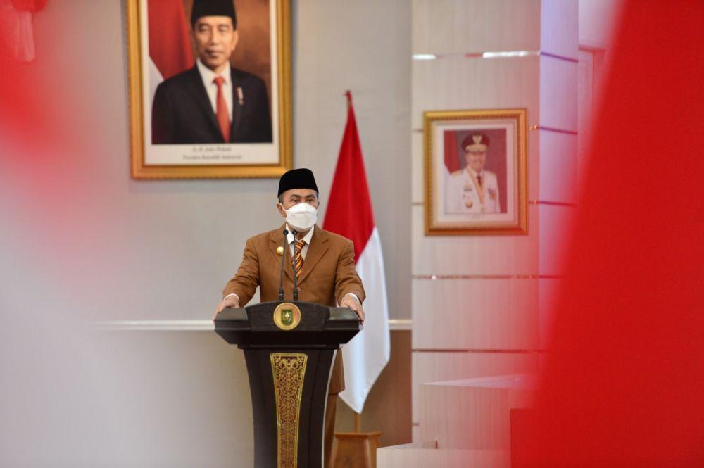 Presiden Apresiasi Penurunan Kasus Covid-19 di Riau