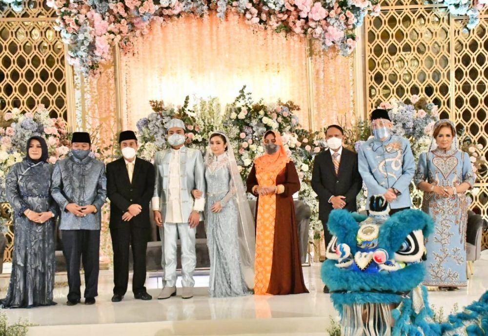 Presiden Jadi Saksi, Gubri Beri Sambutan Pernikahan Tania Laena Putri