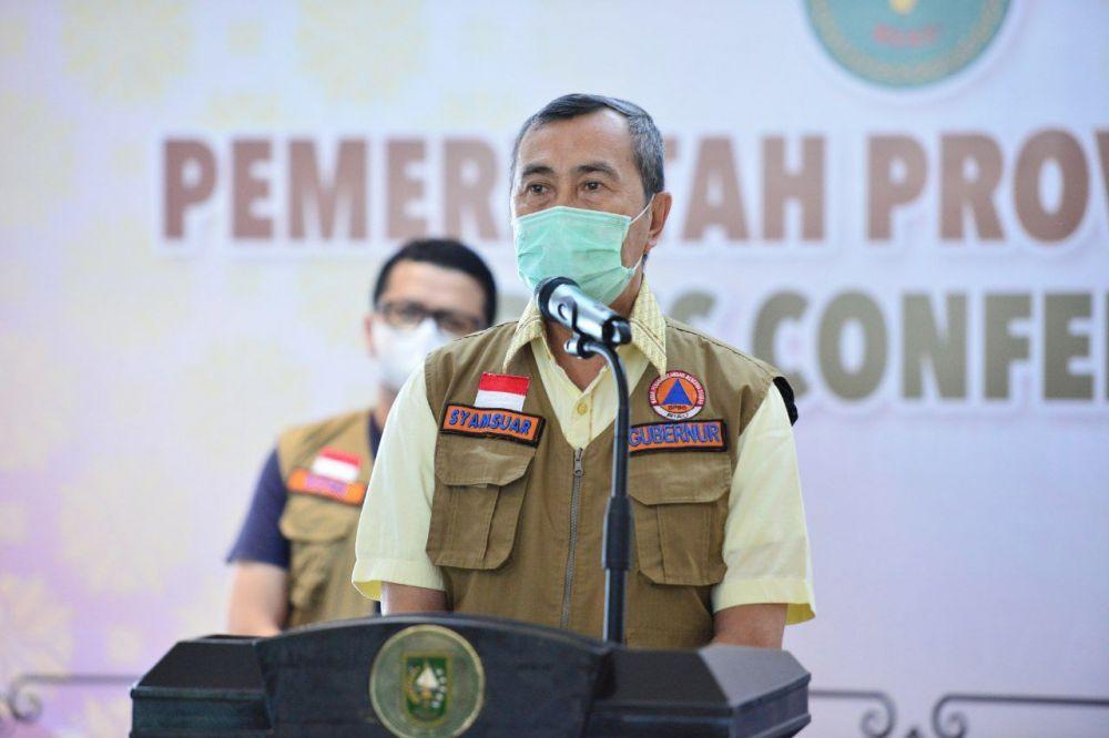 Presiden Jokowi Apresiasi Penanganan COVID-19 di Riau