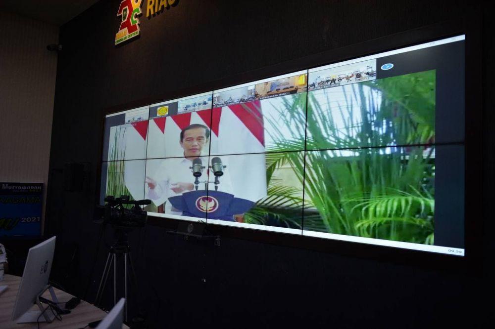 Presiden RI Dorong Pembangunan Pertanian Skala Luas