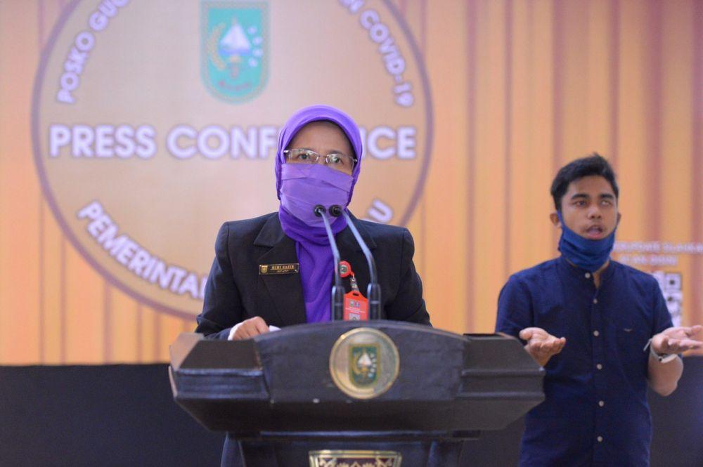 Progres Rapid Test di Riau Capai 143 Persen
