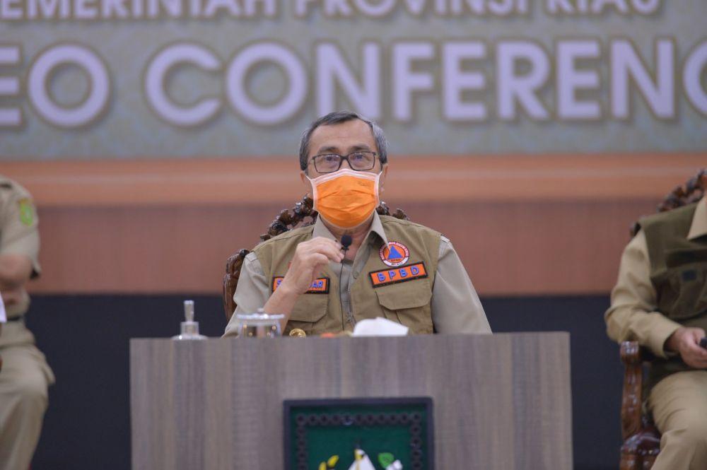Pusat Tunjuk Riau Jadi Percontohan Penerapan Masyarakat Produktif dan Aman Covid-19