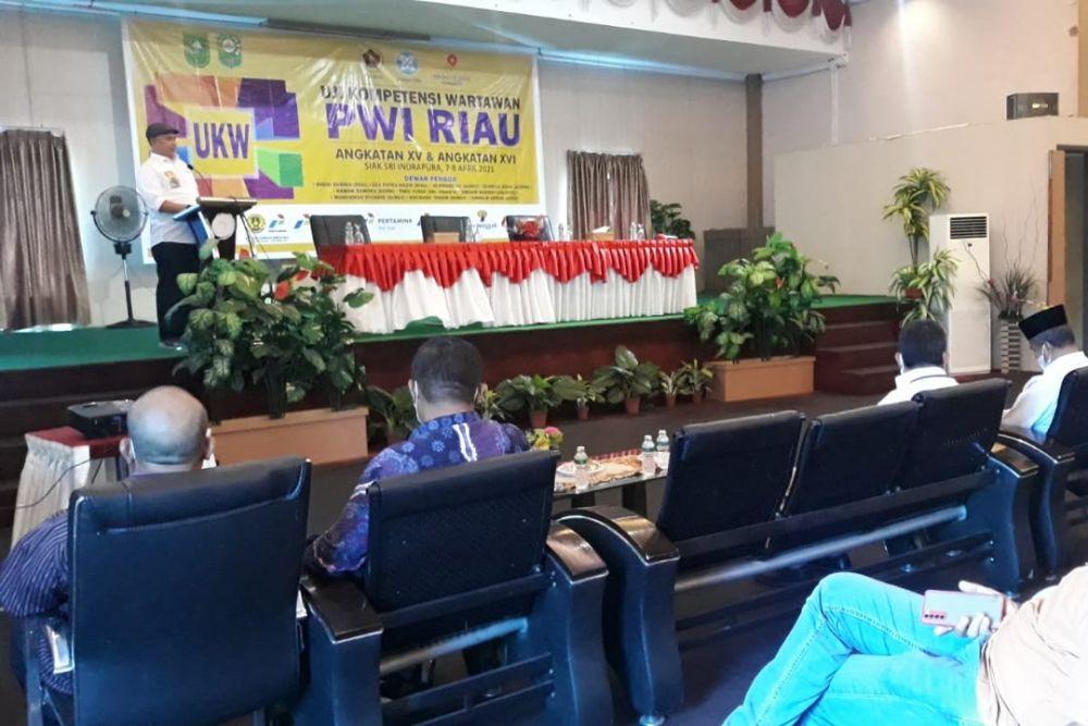 PWI Riau Menggelar Uji Kompetensi Wartawan