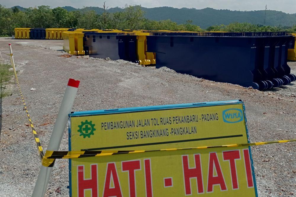 Riau Usulkan Pembebasan Lahan Percepatan 4 Jalan Tol ke Pusat