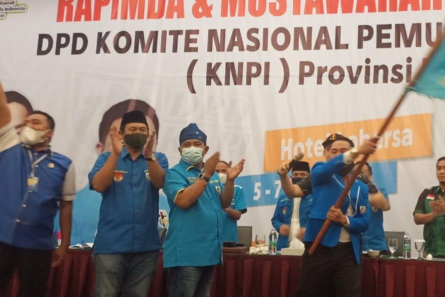Sah! Secara Akalmasi Fuad Santoso Pimpin KNPI Riau