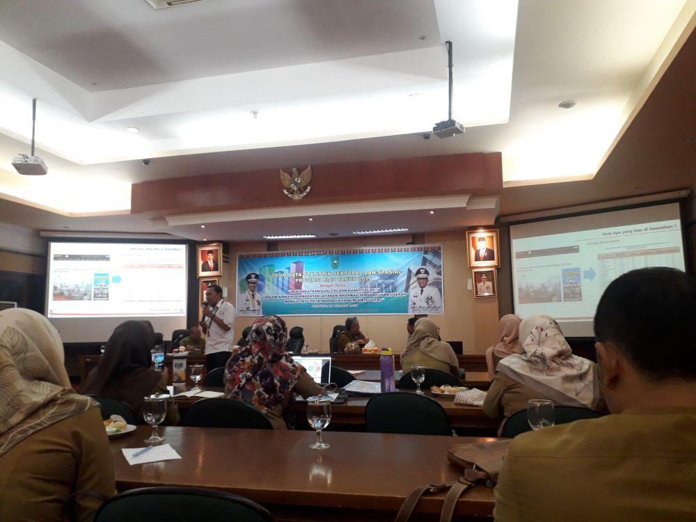 Satu Data Indonesia, Diskominfotik Riau Gelar Forum Data Statistik