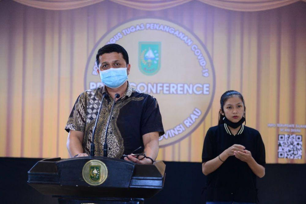 Sebanyak 198 PDP Covid 19 Riau masih Dirawat
