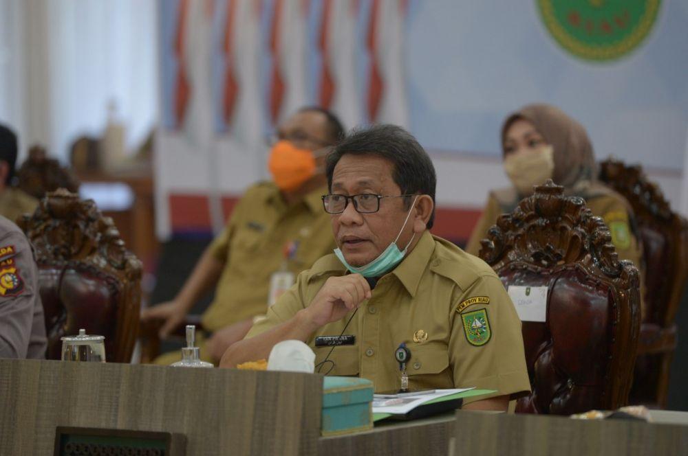 Sekda Riau Harapkan Pemda Segera Lakukan Sosialisasi Aplikasi Mata Bansos