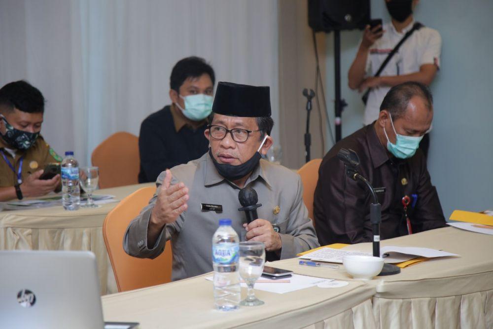 Sekdaprov Riau Hadiri Diskusi Penertiban Indikasi Pelanggaran Pemanfaatan Ruang