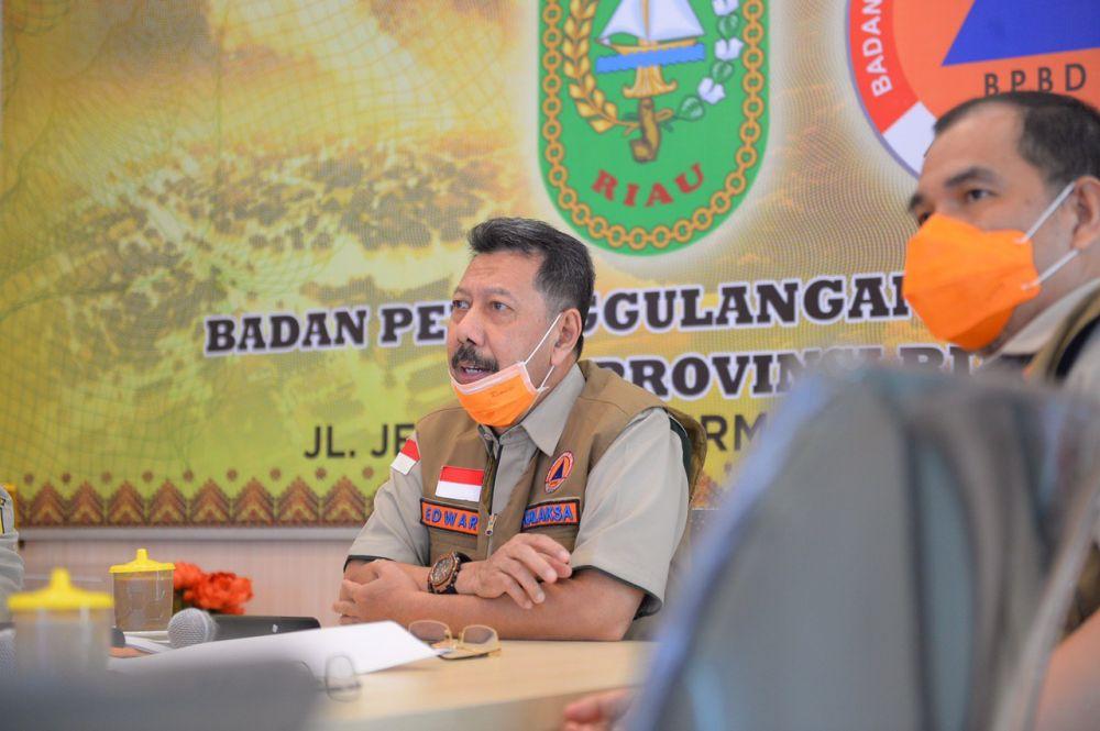 Selain Presiden RI, Penetapan Status Siaga Darurat Karhutla Riau Juga Diapresiasi Kepala BNPB