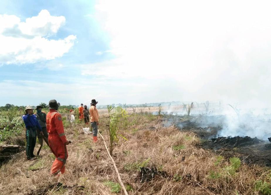 Selesai Padamkan Karhutla di Rohil, Tim Satgas Tancap Gas Berjibaku ke Pelalawan