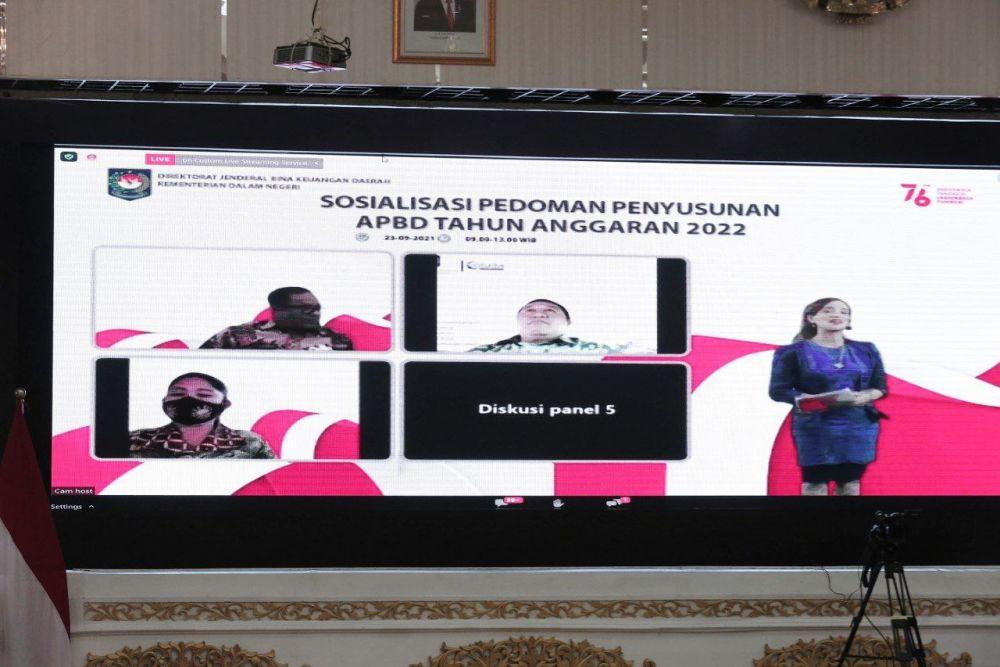 Sosialisasi Permendagri 27 Tahun 2021, Bappenas Sampaikan Beberapa Poin Utama
