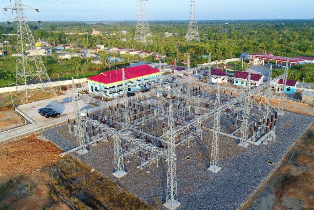 SUTT 150 kV Rengat – Tembilahan Beroperasi, PLN Klaim Hemat Rp 121,73 Miliar per Tahun
