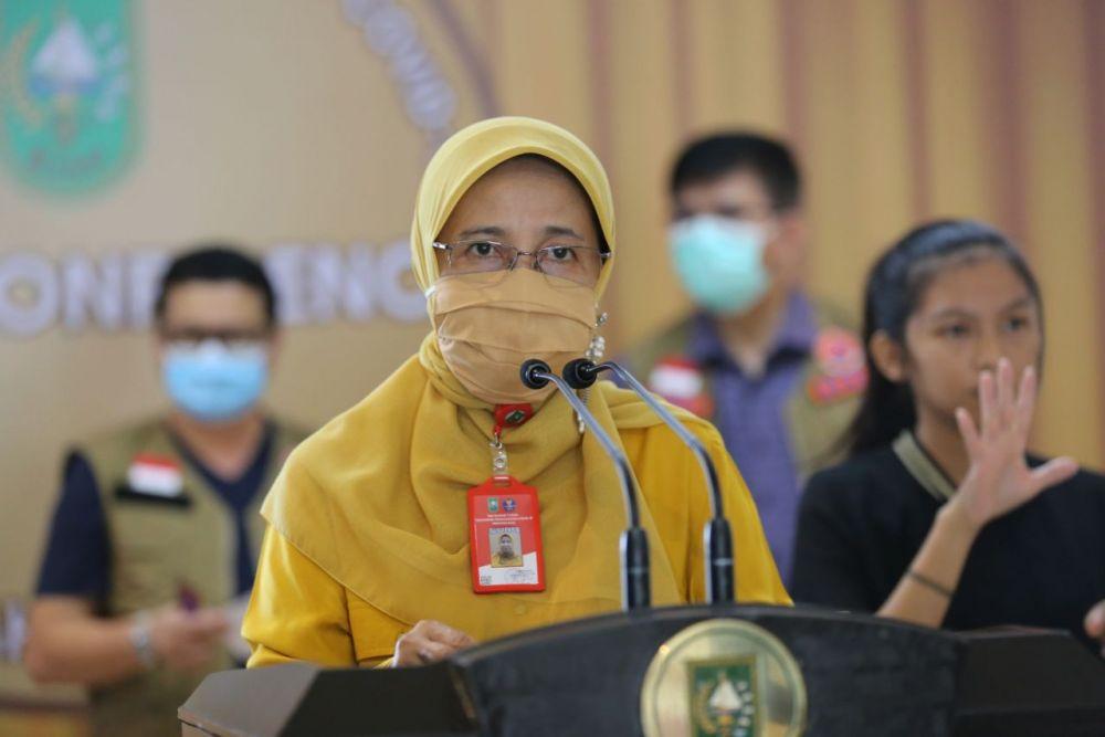 Tambah 128 Positif Covid-19 di Riau, Sembuh 87 Orang