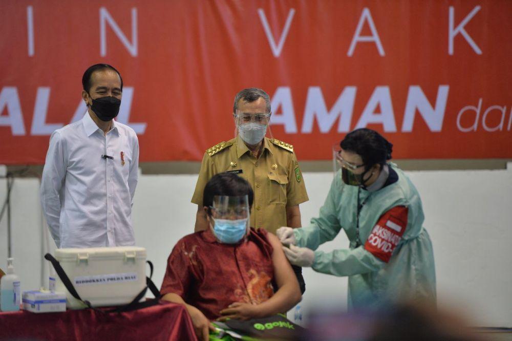 Target Vaksinasi Massal 19-20 Mei di Riau Sebanyak 27.870 Sasaran