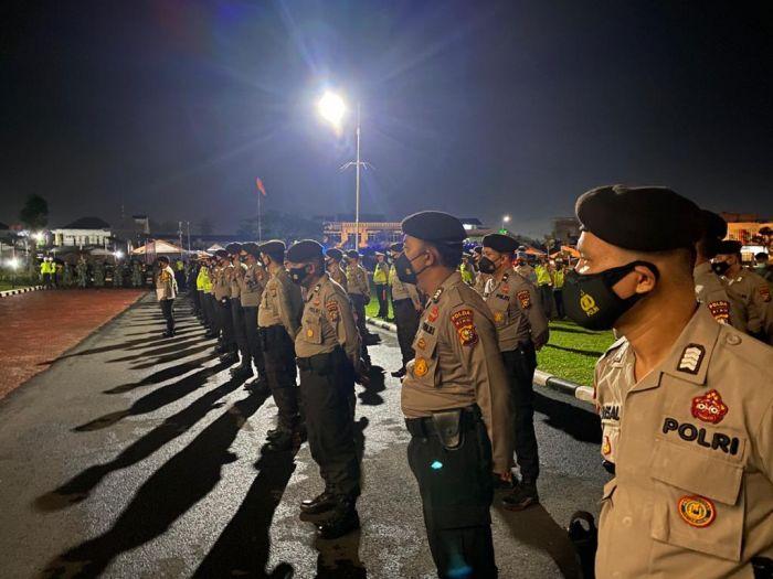 Tekan Penularan Covid-19, Polda Riau Tingkatkan Intensitas Penyekatan dan Pembubaran Kerumunan