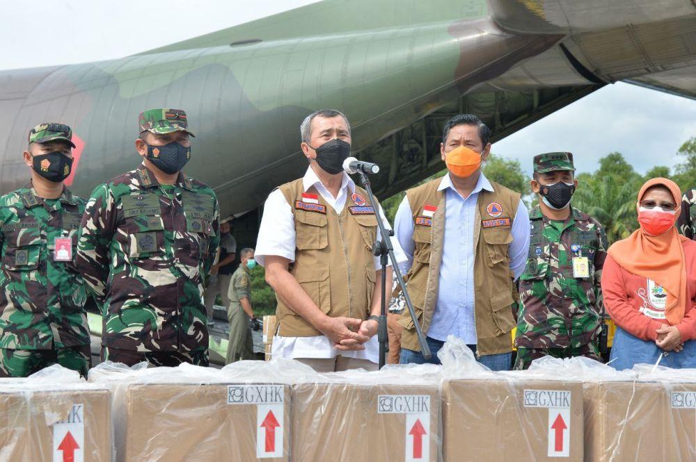 Terima Bantuan Presiden RI, Gubri: Terima Kasih, Semoga Bermanfaat Bagi Masyarakat Riau