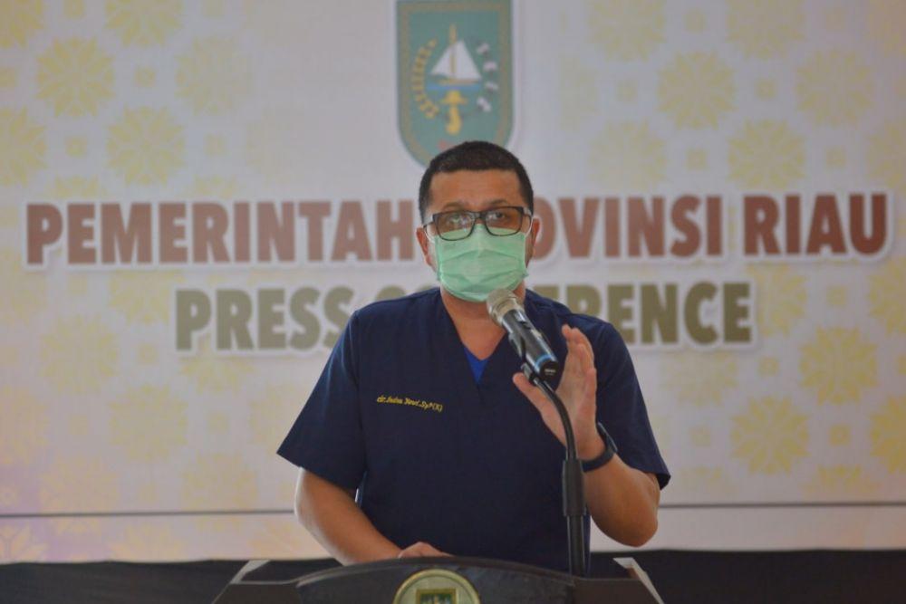 Testing Spesimen di Laboratorium Biomolekuler RSUD Arifin Achmad Tertinggi di Indonesia