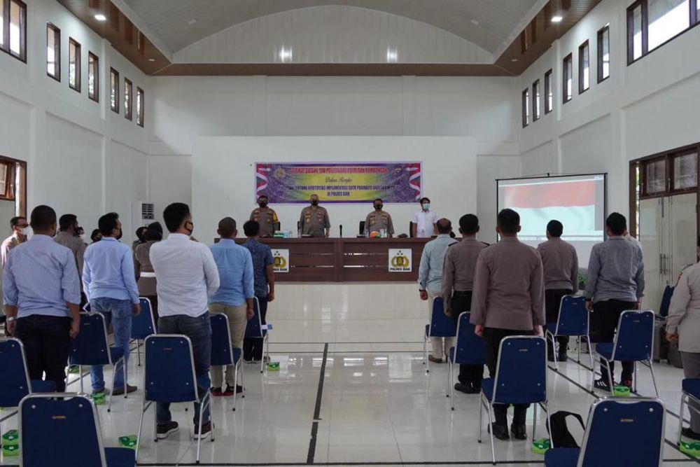 Tim Puslitbang Polri Laksanakan Supervisi di Polres Siak