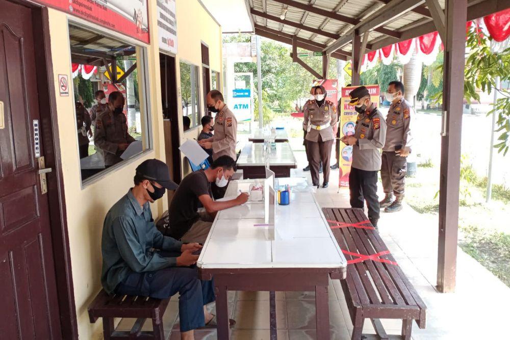 Tim RBP dan Itwasda Polda Riau Lakukan Penilaian dan Evaluasi Zona Integritas di Polres Siak