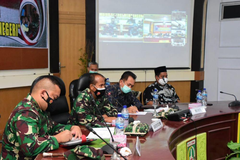 TMMD Ke-112 Fokuskan 4 Pembangunan di Dumai, ini kata Danrem 031/WB