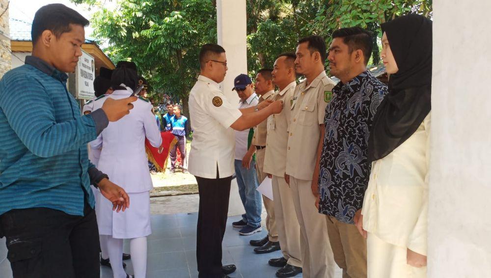 Toni Lantik LKBH PPI Riau & Anugerahkan Tanda Penghargaan Karya Bakti Putera Indonesia