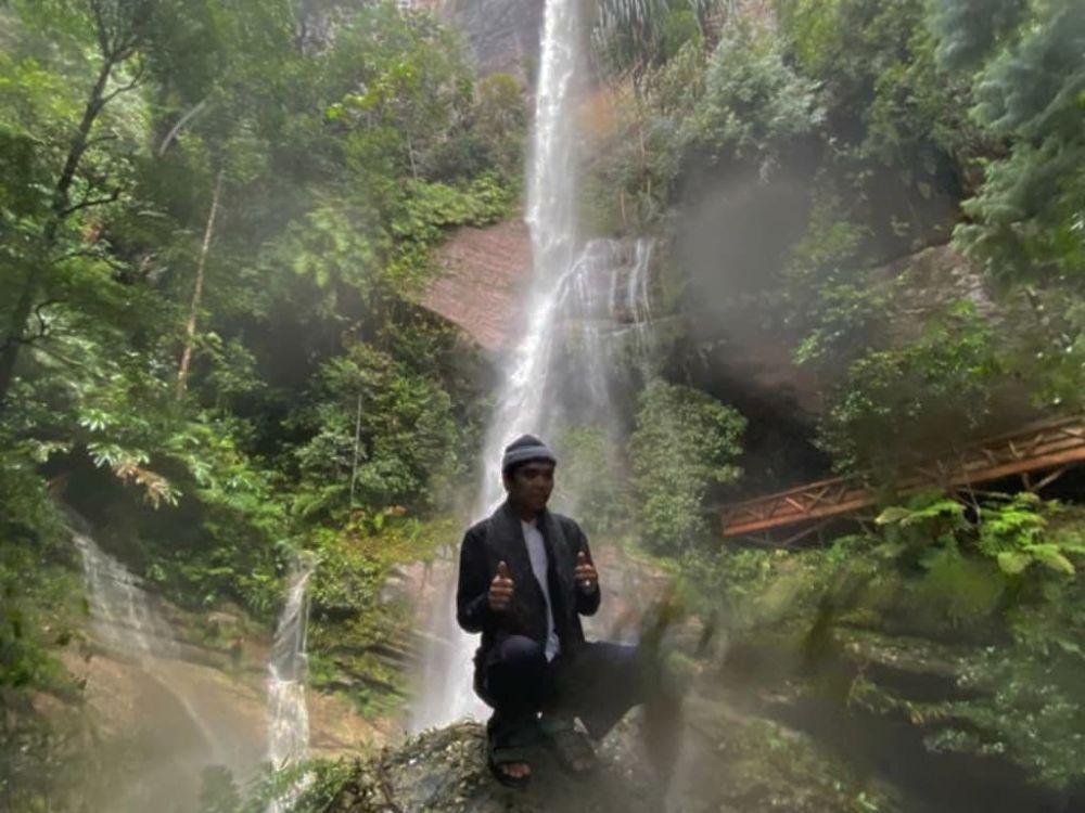 UAS Sebut Air Terjun Batu Tilam Surga Dunia Yang Tersembunyi